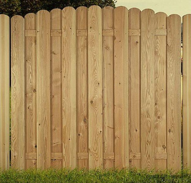 Sichtschutzzaun schützt die Privatsphäre